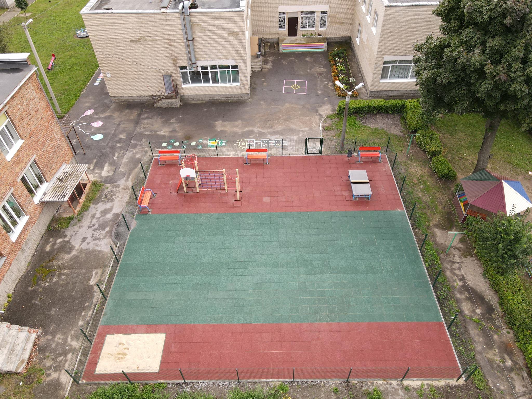 Сергій Моргунов: Садочок №43 на вулиці Чехова має власний спортивний майданчик