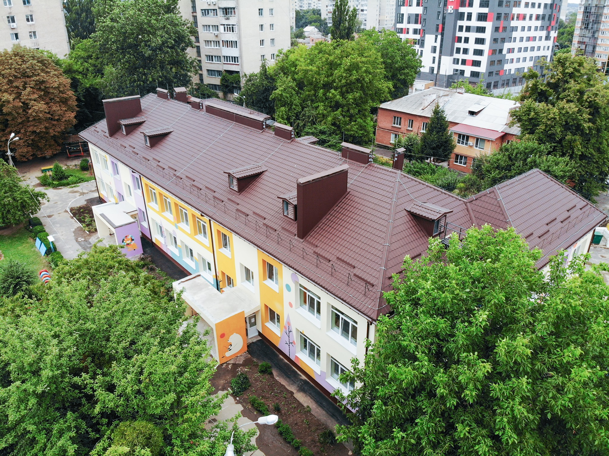 У Вінниці осучаснили садочок №47 на вулиці Чорновола