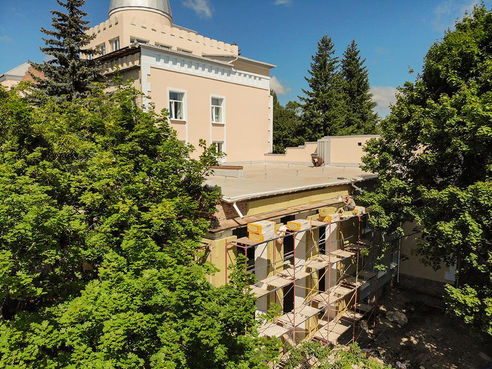 У Вінниці триває реконструкція Палацу дітей та юнацтва