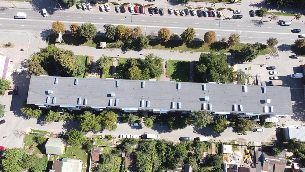 У Вінниці з початку року відремонтували дахи 26 багатоповерхівок