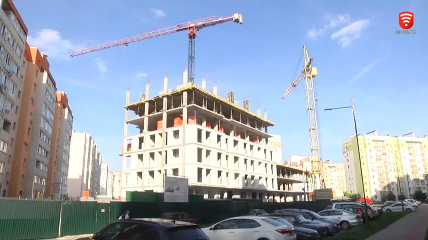 У Вінниці триває будівництво 11 муніципального будинку
